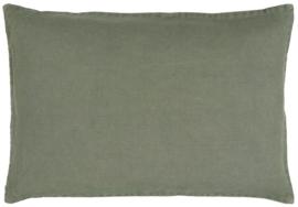 Ib Laursen kussenhoes 60x40 - dusty green