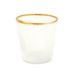 MrsBloom waxinelichthouder glas