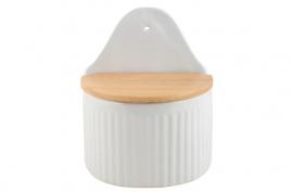 Ib Laursen zoutpot - pure white