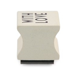 Stempel `with love`
