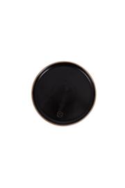 Zusss gebaksbord aardewerk - zwart