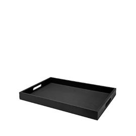 Dienblad 30x45 - zwart