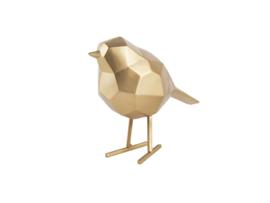 Present Time vogel metaal s - goud