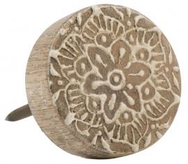 Ib Laursen knop hout - naturel