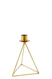 MrsBloom kaarsenstandaard m - goud