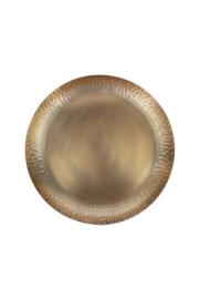 Zusss plateau metaal d30 - brons