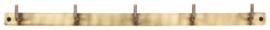 Ib Laursen kapstok - antiek brass