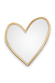 vtwonen spiegel hart  - goud