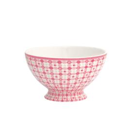Greengate soupbowl - mimi pink
