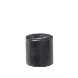 Kaarsenstandaard marmer mini - zwart