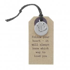 Hanger follow your heart