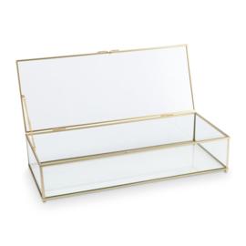 vtwonen glazen box - goud