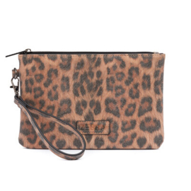 Zebra Trends clutch - leopard