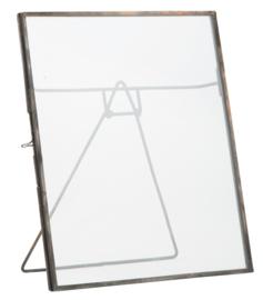 Fotolijst staand l - zink