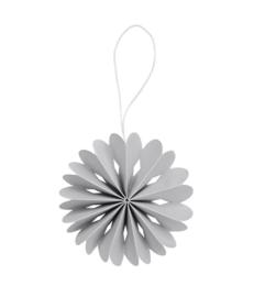 Hangertje papier - grijs