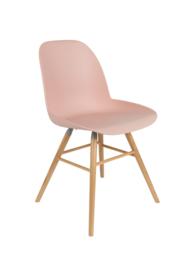 Zuiver stoel - oud roze