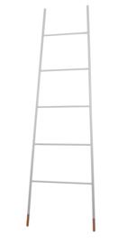 Zuiver ladder metaal - wit