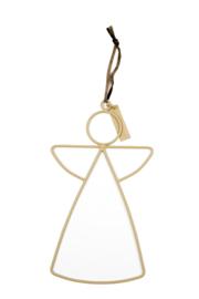 MrsBloom hanger engel l - clay