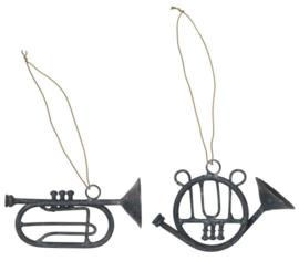 Ib Laursen hangertje trompet - zink