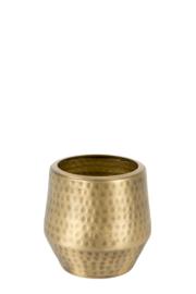 MrsBloom metalen potje m - goud