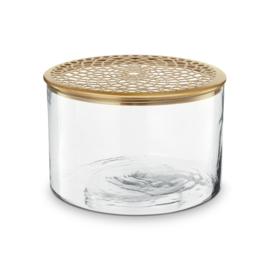 vtwonen vaas glas - goud