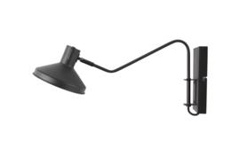 WOOOD wandlamp - zwart