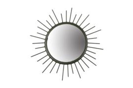 MrsBloom spiegel metaal m - donkergroen