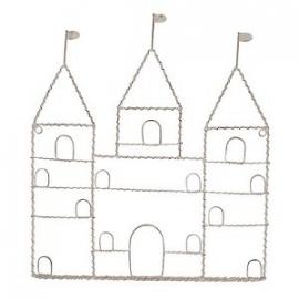 Kaartenhouder, kasteel