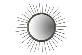 MrsBloom spiegel rond l - donkergroen