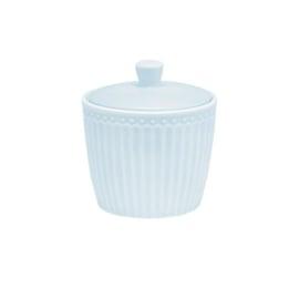 Greengate sugarbowl  - alice pale blue