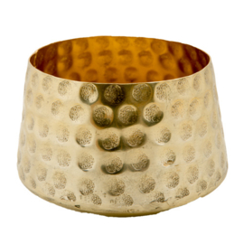 MrsBloom waxinehouder goud - l