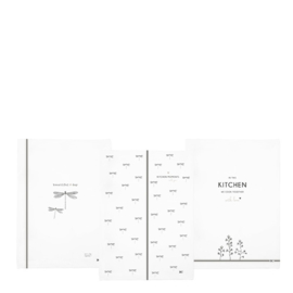 Bastion Collections theedoek - wit