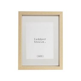 Fotolijst hout 16x22 cm