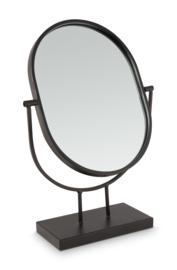 vtwonen spiegel ovaal - zwart