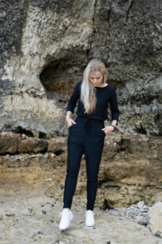 Zusss travel broek - zwart