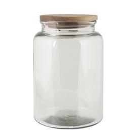 Ib Laursen voorraadpot glas l