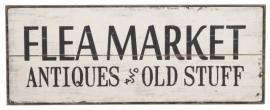 Tekstbord, Flea Market