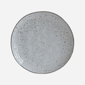 House doctor ontbijtbord rustic - grijs/groen