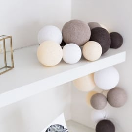 Cotton ball lights premium - naturel softs