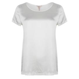 Esqualo t-shirt zijde - off white
