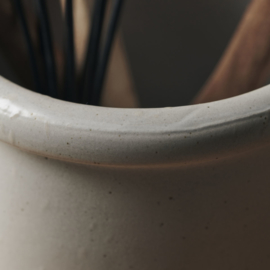 House Doctor pot - grijs/wit