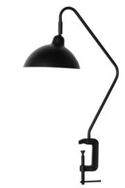 vtwonen tafellamp met klem - zwart