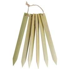Plantlabels bamboe s/6