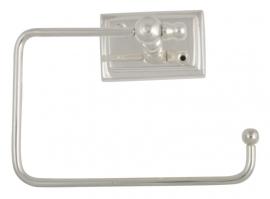 Toiletrolhouder, antiek zilver