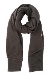 Zusss warme sjaal - grafietgrijs