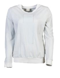 Stapelgoed sweater - lichtgrijs