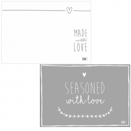 Bastion Collections placemats papier - wit