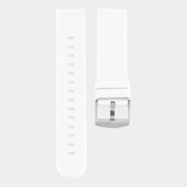 OOZOO smartwatch losse band - wit/zilver