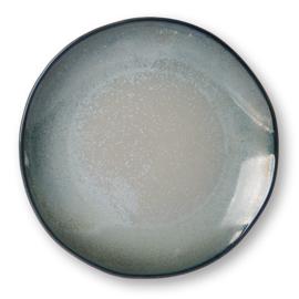 HKliving dinerbord - grijs/groen
