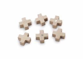 vtwonen magneten kruis - naturel